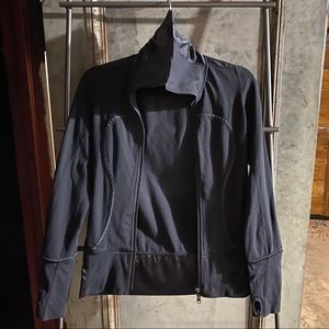 Lululemon Athletica Black Zip Up Sweatshirt Jacket